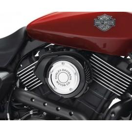 Embellecedor de filtro de aire Harley-Davidson® Motor Co. - Cromado