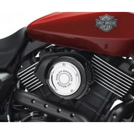 Harley-Davidson® Motor Co. Air Cleaner Trim - Chrome