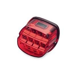 LAYBACK LED TAIL LAMP - INTERNATIONAL - RED LENS