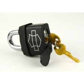 HIGH SECURITY PADLOCK, BLACK