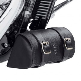 Down-Tube Bag (Black Leather)