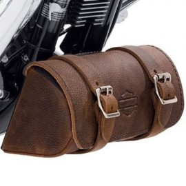 Down-Tube Bag - Distressed Brown Leather
