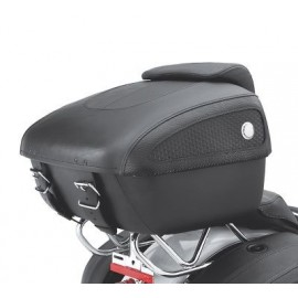 Tour-Pak Luggage - Leather Softail Deluxe Styling