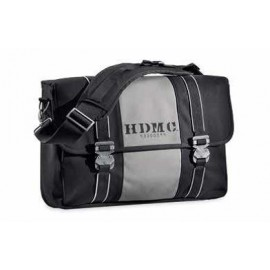 HDMC MESSENGER BAG - BLACK/SILVER