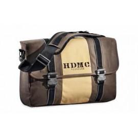 HDMC MESSENGER BAG - BROWN/TAN