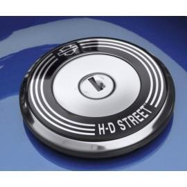 FUEL CAP MEDALLION - STREET MODELS - H-D STREET SCRIPT