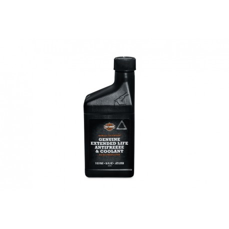 H-D GENUINE EXTENDED LIFE ANTIFREEZE AND COOLANT - Oil - 4 L