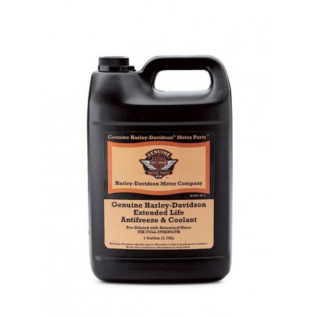 harley davidson engine coolant genuine harley davidson extended life antifreeze and coolant  genuine harley davidson extended life
