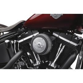 Kit de filtro de aire Fase I Screamin Eagle Twin Cam Negro