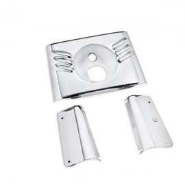 FORK COVER KIT - CHROME