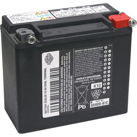 HARLEY DAVIDSON BATTERY 65989-97