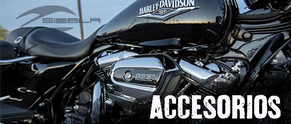 Gran gama de accesorios para tu moto